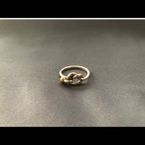 Tiffany and Co Woman's Silver Knotted Ring